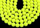 Perle Swarovski, neon yellow, 14mm - x2