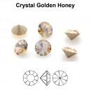 Preciosa chaton, golden honey, 6mm - x4