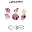 Preciosa chaton, light amethyst, 6mm - x4