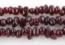 Red garnet - chips - granat rosu sangeriu, 87cm
